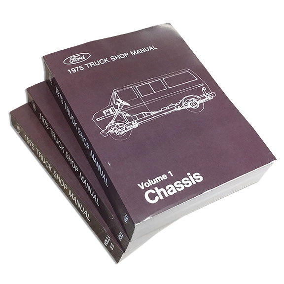 1975 Ford Truck Shop Manual Reprint