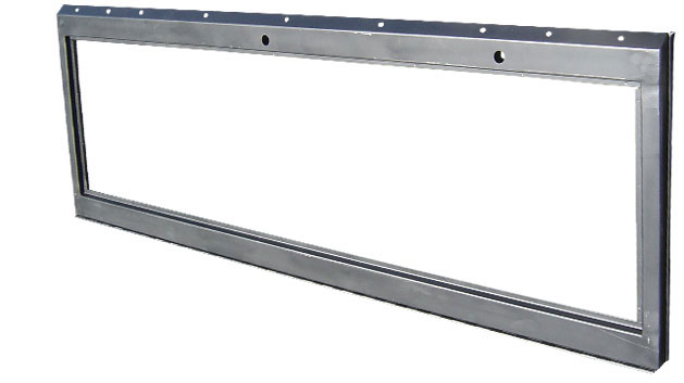 Windshield Frame - Electric Wipers, OE Style, 66-77 Ford Bronco, New