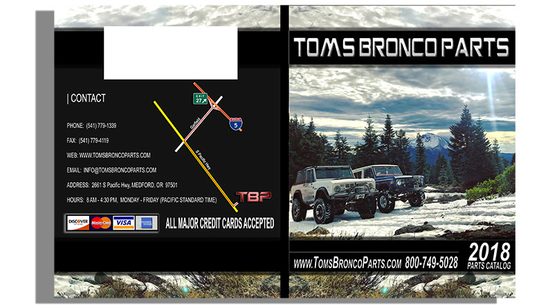 2019 Tom's Bronco Parts Catalog - 66-77 Ford Bronco