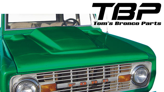 66-77 Ford Bronco Body Panels - Toms Bronco Parts