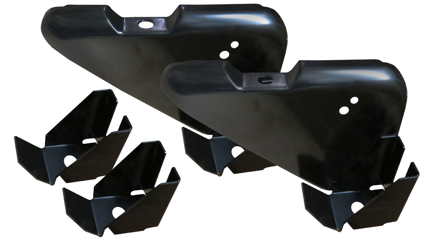 Core Support Mounting Bracket Kit - Support to Fender Well