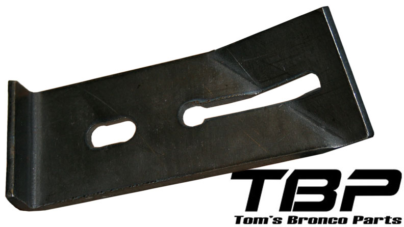 Tire Carrier Safety Cable Bracket, 67-77 Ford Bronco