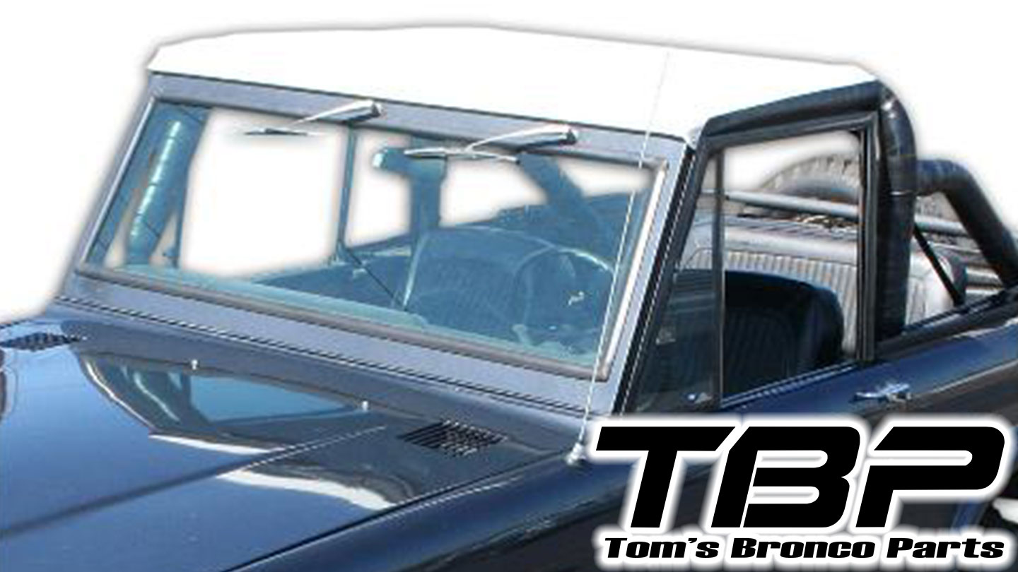Rollbar Top Skin ONLY - White Standard
