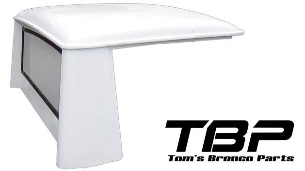 Fiberglass Half Cab Hard Top