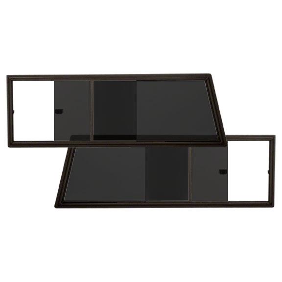Slider Windows - Side, For Hard Top, Tinted, Glass & Frame (pair)