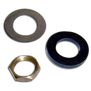 Wiper Bezel, Nut & Gasket Kit - Stock (each) 2 Needed