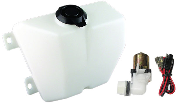 Washer Bottle & Pump Kit, 68-70 Bronco