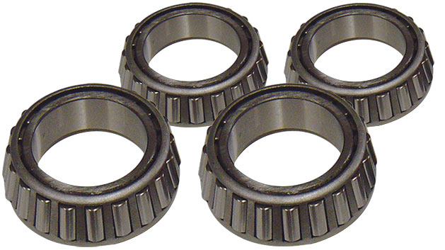 Front Wheel Bearings, Inner & Outer, 66-79 Ford Bronco, set of 4