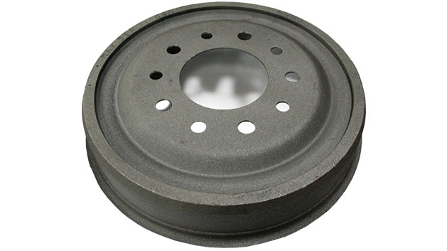 Brake Drum - Front, Steel, 66-69 Ford Bronco (each)
