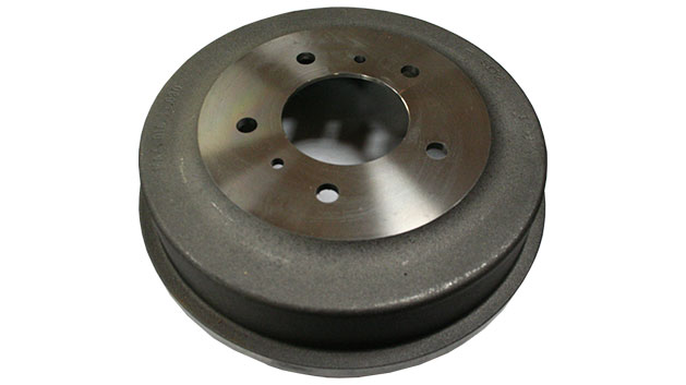Brake Drum - Front, Cast Iron, 70-75 Ford Bronco (each)