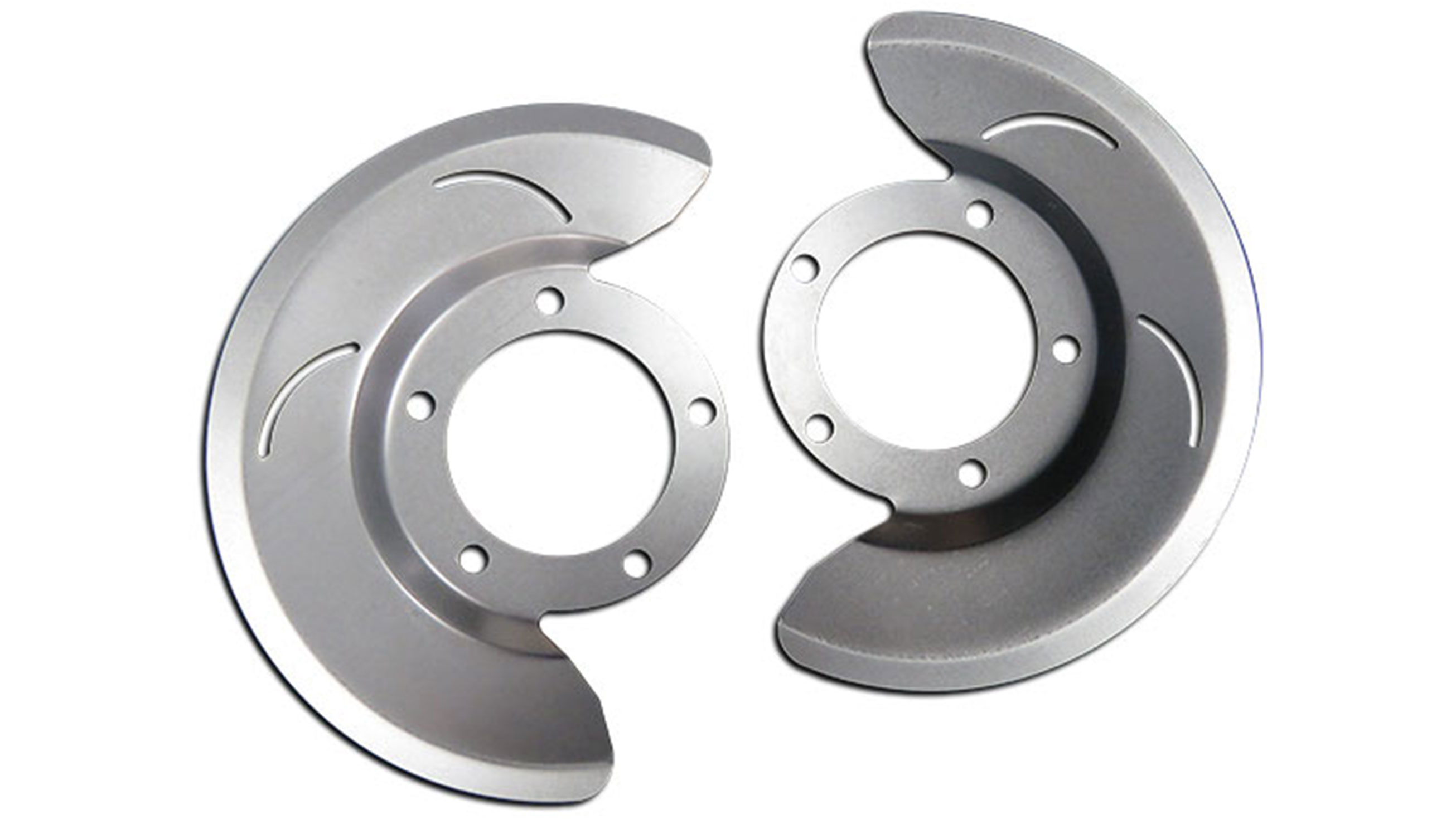 Dust Shields for Front Disc Brakes, 76-79 Ford Bronco, Pair