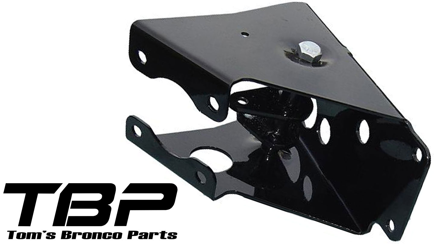 Power Brake Bracket, No-Modify, W/ Hardware