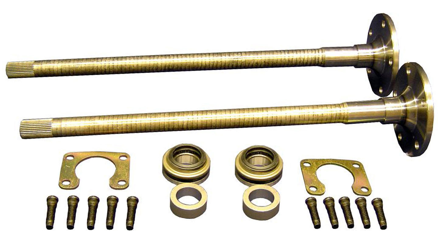 Rear Axles - 31 spline, Big Bearing, 1/2'' Retainer Bolts, 66-75 Ford Bronco