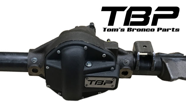 "TBP ""44 Mag"" Dana 44 Front End w/Power Lock, High or Low Pinion, NEW"