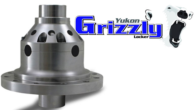 Yukon Grizzly Locker, Dana 44, 30 Spline Axles, 4 Series (3.92 & up), 71-77 Ford Bronco