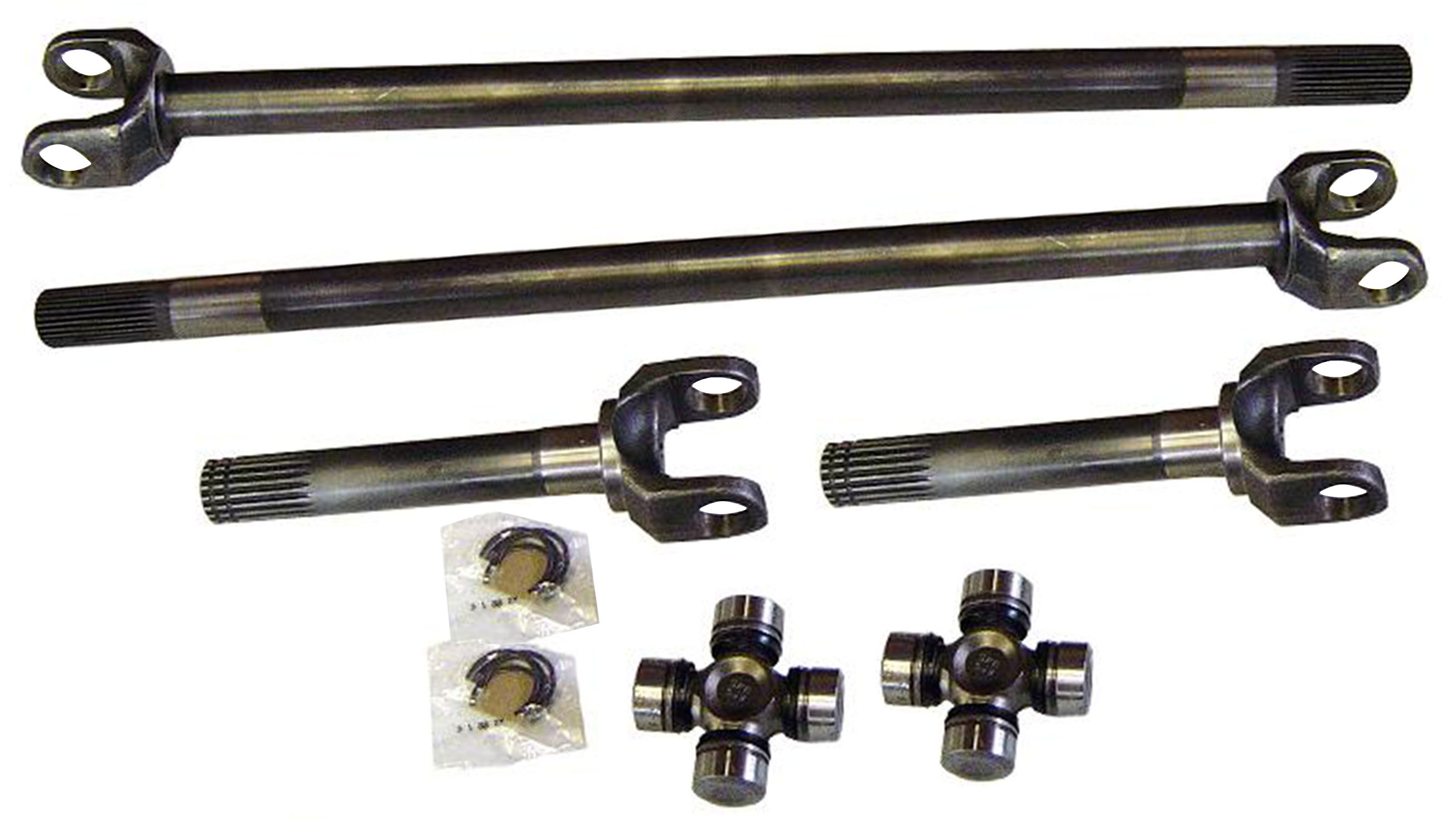 1968-1979 Ford F-150, 1978-1979 Bronco Chromoly Axles w/ 760X U-Joints