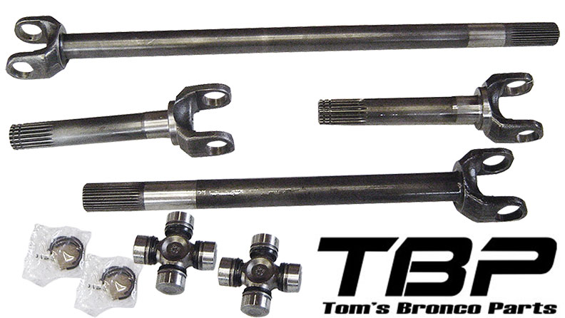 Dana 44 Front End - Toms Bronco Parts