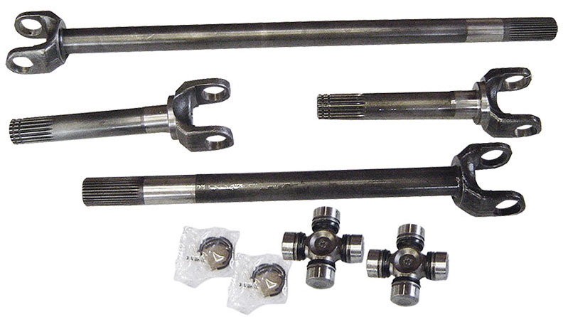 Chromoly Front Axle Kit, Dana 44, Full Set w/760x U-Joints