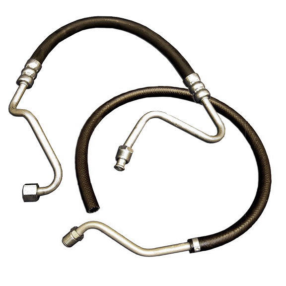 Power Steering Hose Kit - High & Low Pressure, 72-77 Bronco