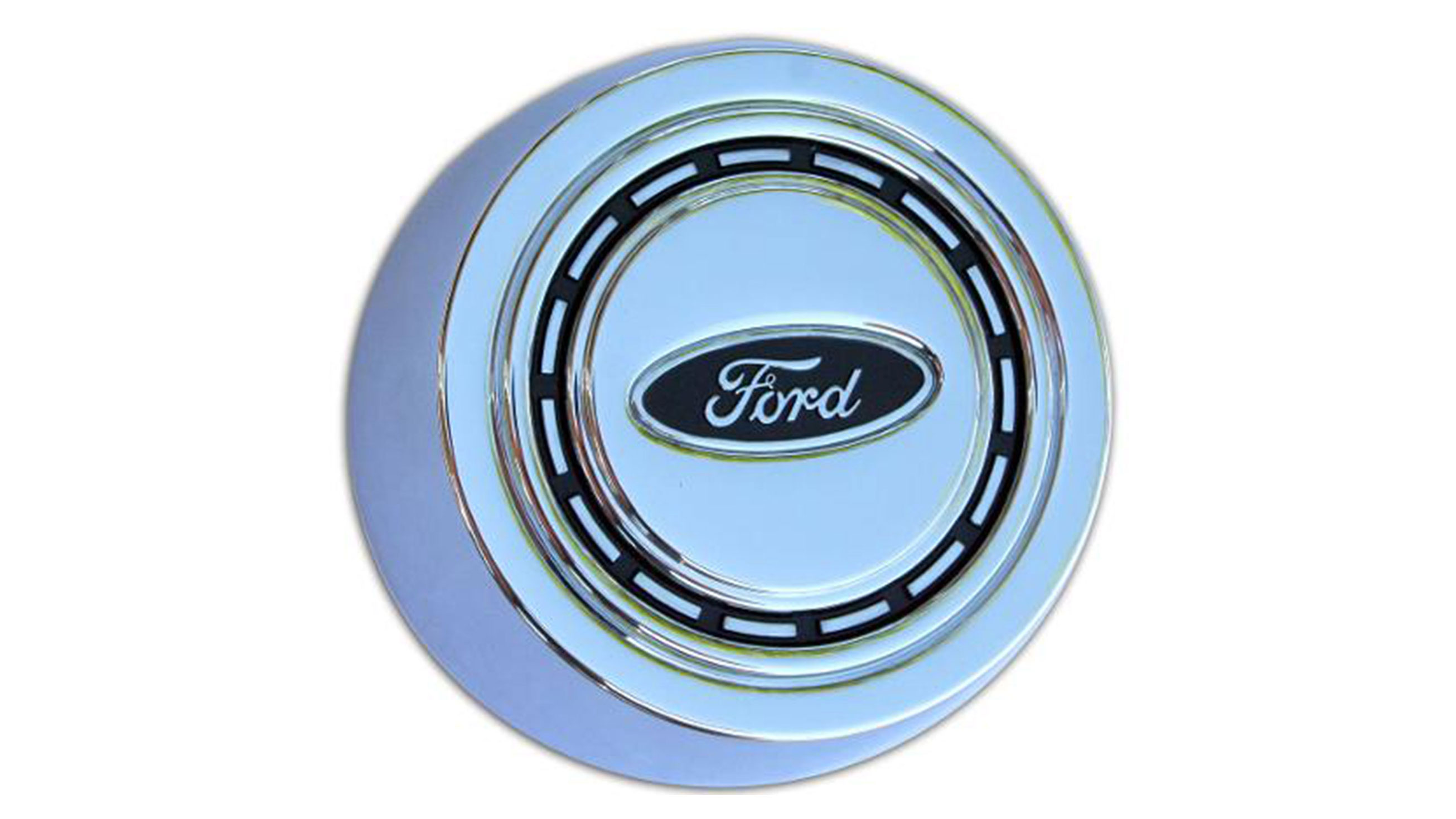 OE Style Factory Horn Button, Chrome, 66-73 Ford Bronco