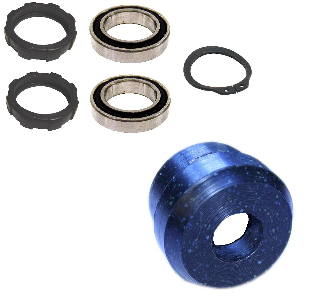 Column Bearing Kit, Upper & Lower, 76-77 Bronco