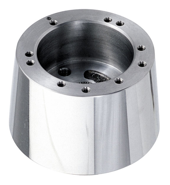 Polished Aluminum Tilt Column Steering Wheel Adapter