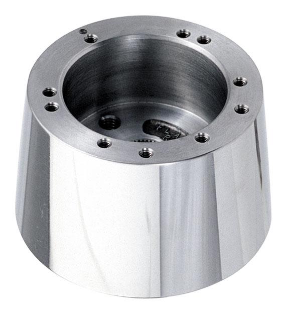 Polished Aluminum Tilt Column Steering Wheel Adapter