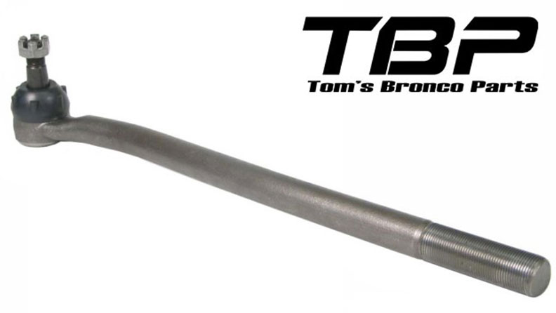 """Outer Tie Rod - Driver Side, Inverted Y, 17"""", 76-77 Ford Bronco"""
