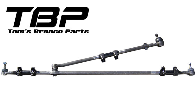 Steering Linkage - Conversion from Inverted-Y to T-style, 76-77 Ford Bronco