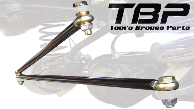 Heim Joint Steering Linkage - Trail Terminator, 76-77 Ford Bronco, Disc Brake Front End