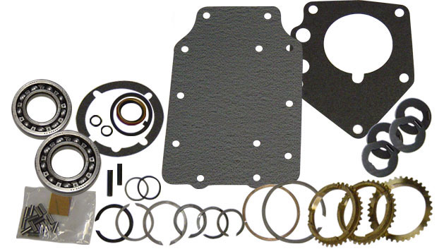 Rebuild Kit - Manual 3 Speed, Includes Syncros, 66-77 Ford Bronco