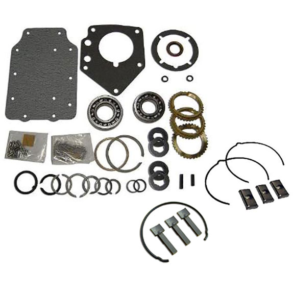 MAJOR Rebuild Kit - HEF/RAN, Manual 3-spd, w/Syncros & Synchro Key/Spring Kits