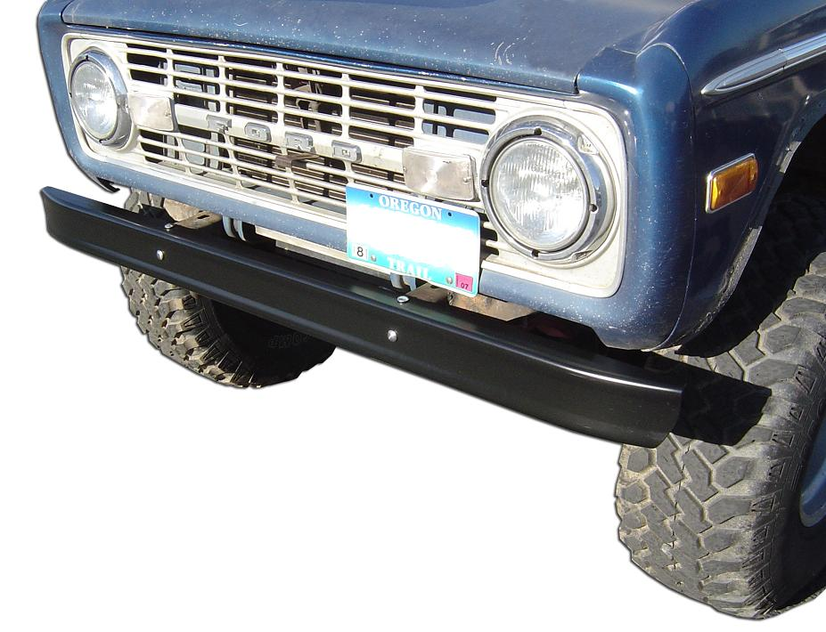 Stock Black Bumpers, OE Quality, Front & Rear PAIR, Scratched
