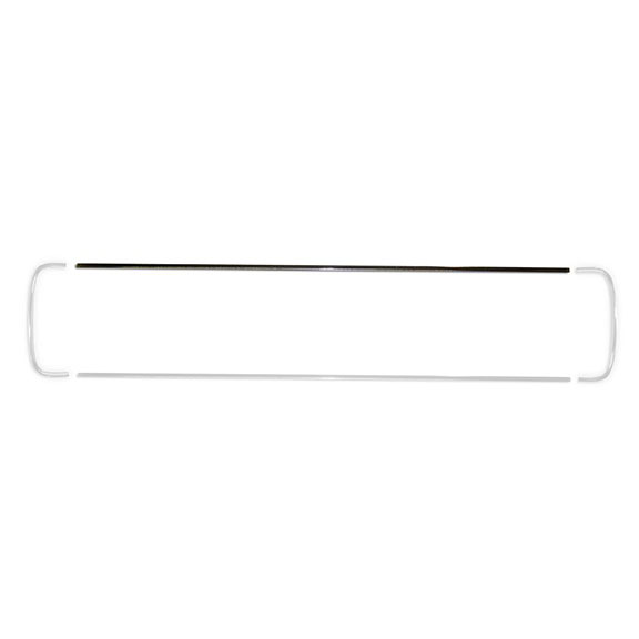 Grill Chrome - Fits Upper or Lower, each
