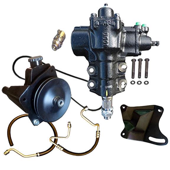 Power Steering Conversion Kit - Close Ratio