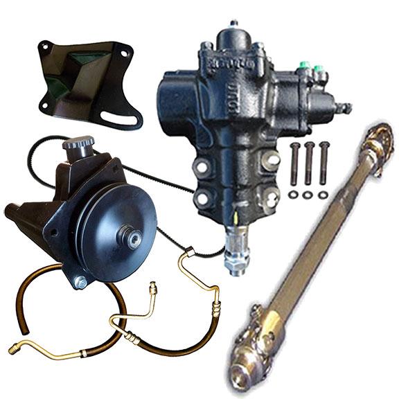 Power Steering Conversion Major Kit - Close Ratio