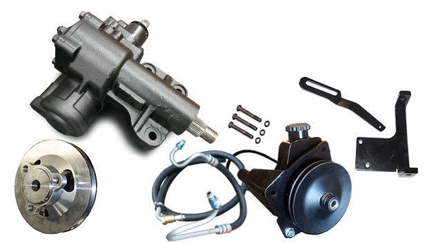 Power Steering Conversion 6 CYLINDER Kit - Close Ratio