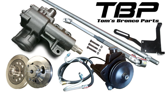 MASTER Power Steering Conversion Kit - 6 cylinder