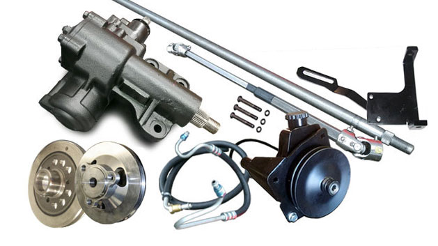 MASTER Power Steering Conversion Kit - 6 cylinder
