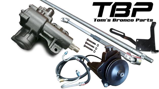 MAJOR Power Steering Conversion Kit - 6 cylinder