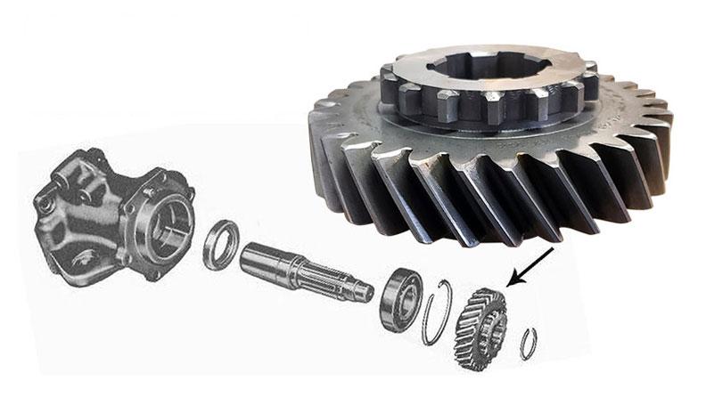 Dana 20 Transfer Case Adapter Gear