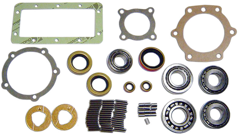 D20 Transfer Case Master Rebuild Kit - J-Shift Style, 73-77 Ford Bronco