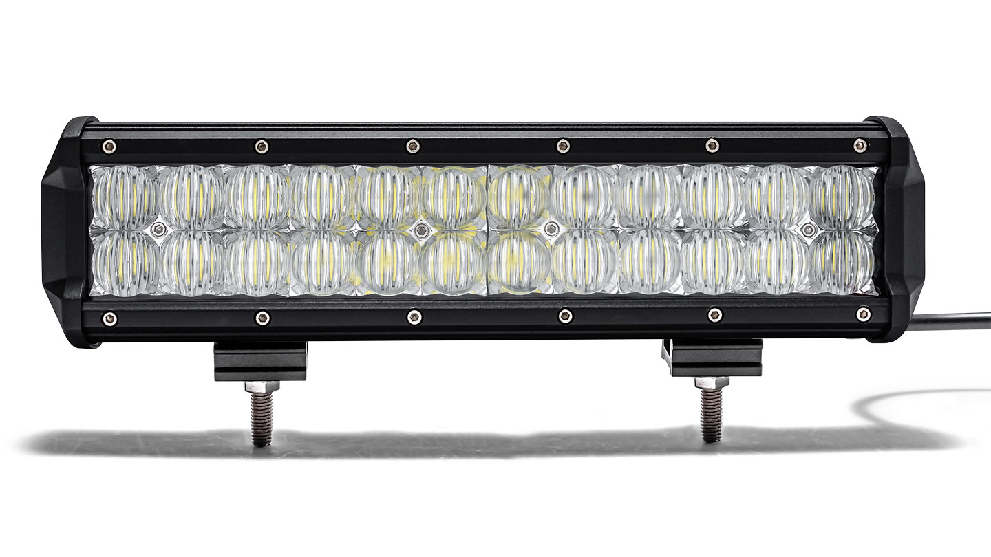 "12"" Dual Row LED Light Bar by TBP Off-Road, FLOOD"