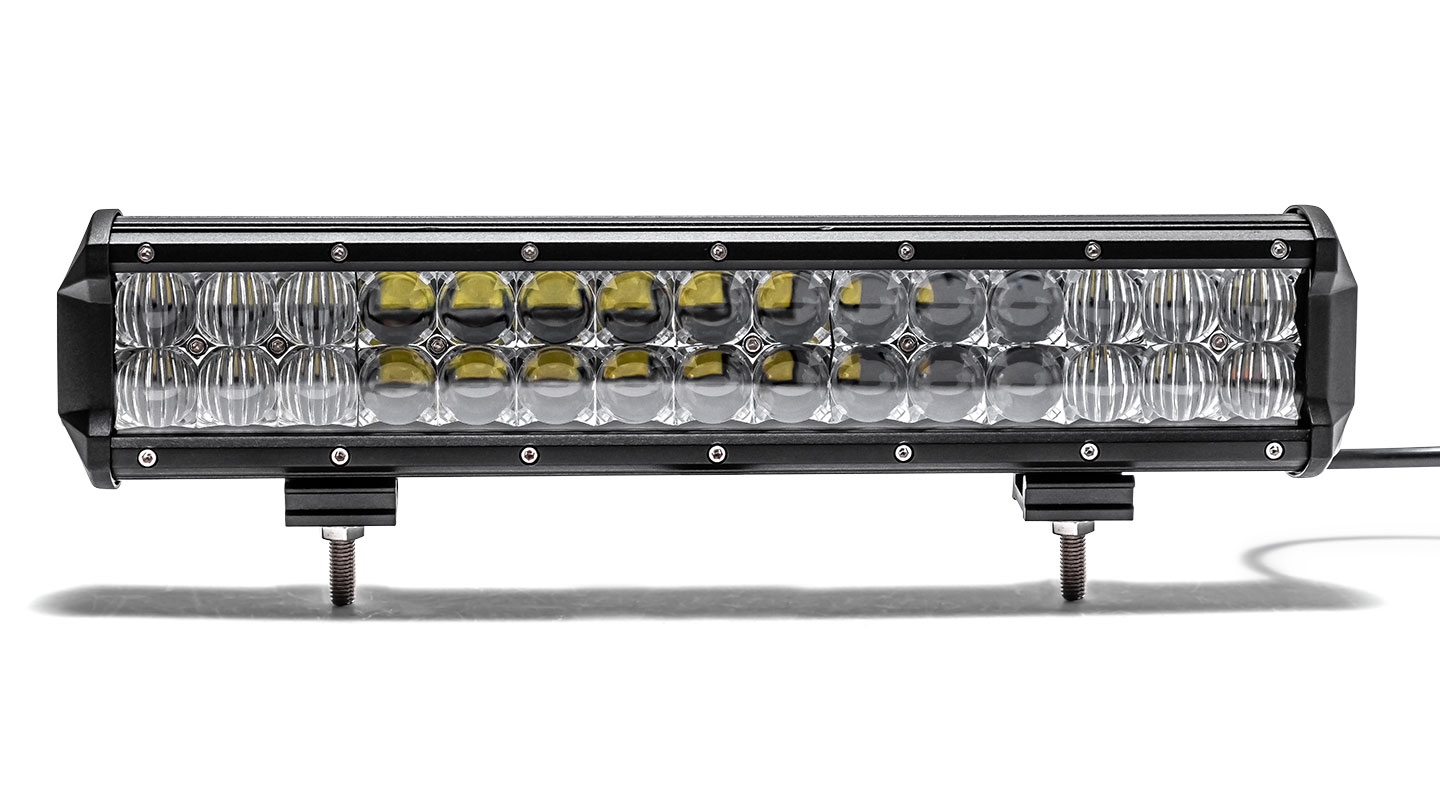 "14.8"" Dual Row LED Light Bar by TBP Off-Road, Flood/Spot COMBO"