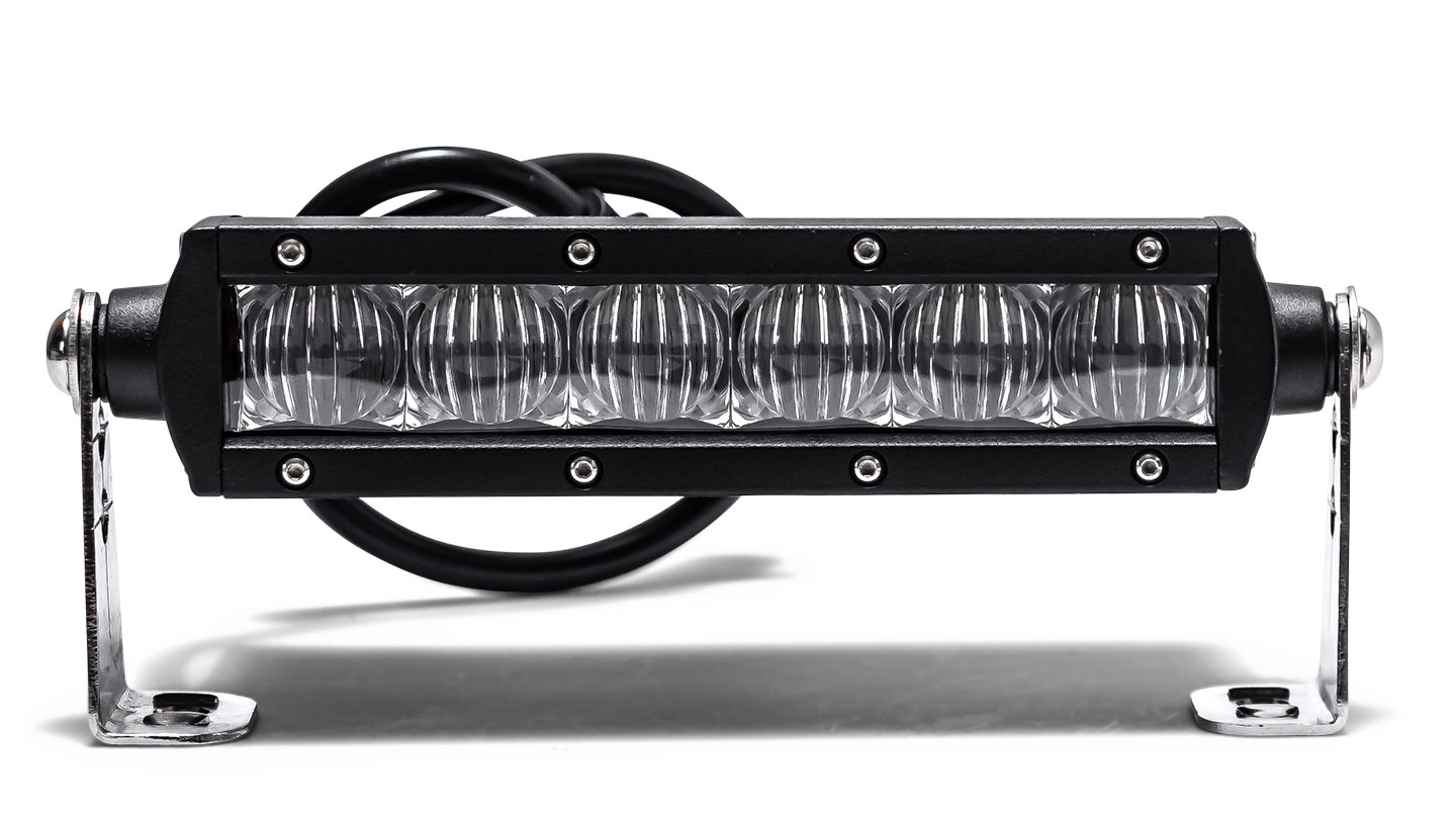 "6.5"" Single Row LED Light Bar by TBP Off-Road, FLOOD"