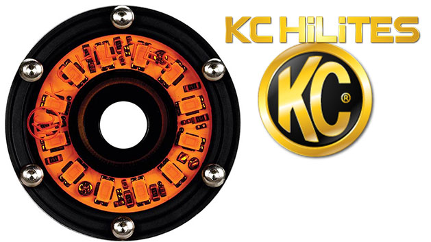 Amber Cyclone LED Light by KC HiLites