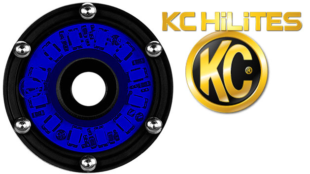 Blue Cyclone LED Light by KC HiLites