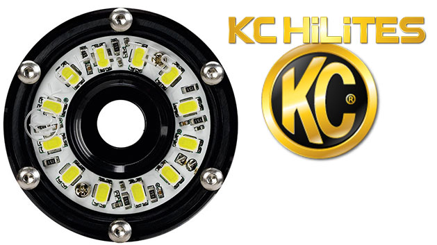 Clear Cyclone LED Light by KC HiLites