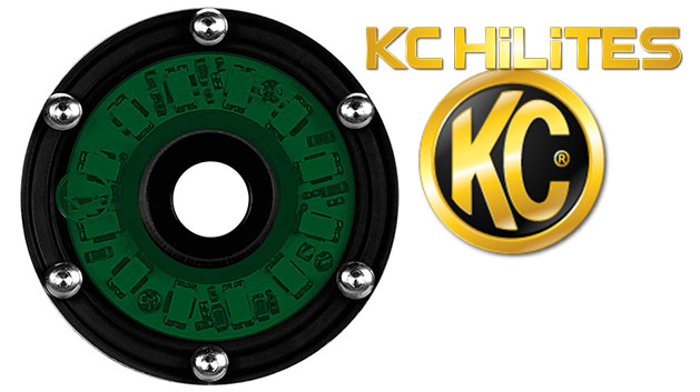 Green Cyclone LED Light by KC HiLites