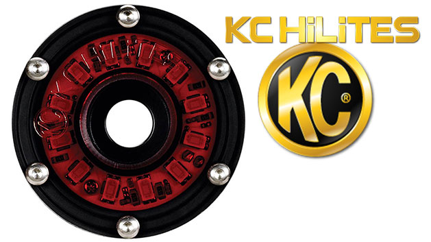 Red Cyclone LED Light by KC HiLites